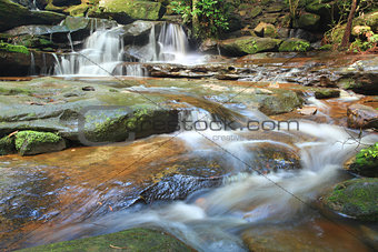 Waterfalls and little stream Australia