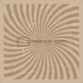 Abstract Hypnotic Grunge Background. Vector Illustration
