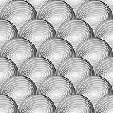 Design seamless monochrome sphere pattern