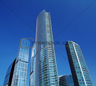 """Business Center """"Moscow City""""."""