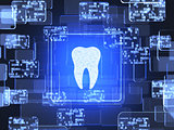 Tooth icon screen