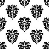 Vintage damask seamless pattern