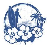 Surf stamp