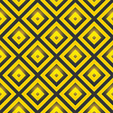 Retro pattern of geometric shapes. Seamless vector pattern with squares