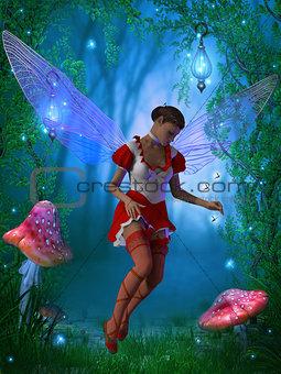 Fairy with Glow flies