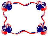 Fourth July Balloons Streamer