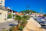 Scenic Mediterranean village of Tribunj