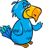 funny parrot bird cartoon illustration