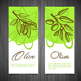 Hand-Drawing Olives