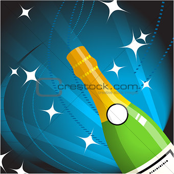 Champagne Internet Background