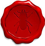 Bug on Wax Seal