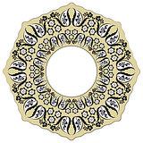 black oriental ottoman design ten