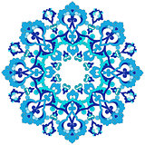 blue oriental ottoman design thirty-three