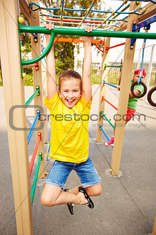 Fun on playground