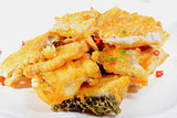 Chinese Food: Fried fish fillets