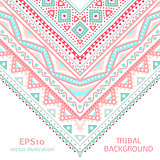 Tribal ethnic corner pattern