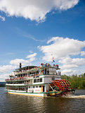Riverboat Paddle Steamer