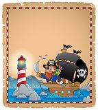 Pirate theme parchment 1