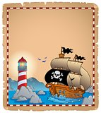 Pirate theme parchment 3
