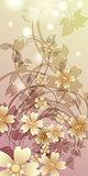 Flower whirlpool