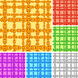 Seamless chain pattern.