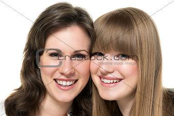 Portrait two women