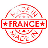 Made in France red seal