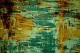 Surface Rust Green