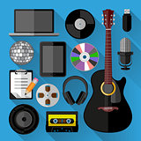 Music icons bundle