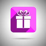 Gift Icon Flat design