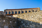Croatia - Porec on Istria peninsula. Euphrasian Basilica - UNESCO World Heritage Site.