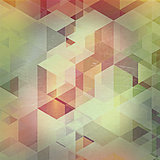 Vintage abstract design background
