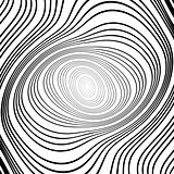 Design monochrome whirlpool ellipse background