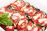 Eggplant Mozzarella Rolls