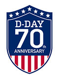 D-Day Anniversary badge