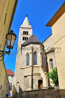 Prague.  Church of St.. George