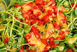 Ginger, Watercress and Red Pepper Salad