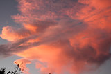 Pink Orange Sunset Clouds