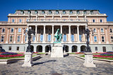 Buda Castle building