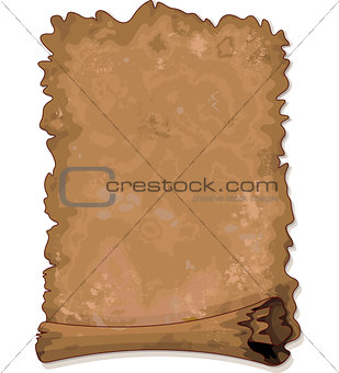 Old vintage scroll