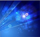 Abstract bokeh vector background