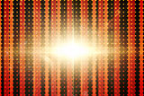 Linear pattern with glowing light