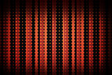 Linear pattern in black and red