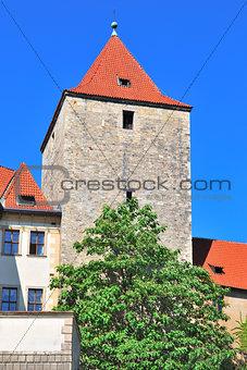 Prague. Black Tower