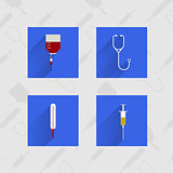 Icons for medicine