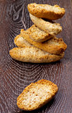 Crispy Bread Halves