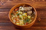 Russiancabbage soup - stchi