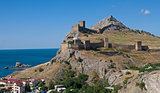 Genoese Castle in the Crimea