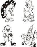 Comic creatures