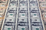 Differents U.S.dollar banknotes on the table